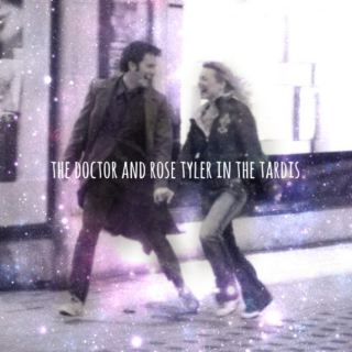 the doctor and rose tyler in the tardis