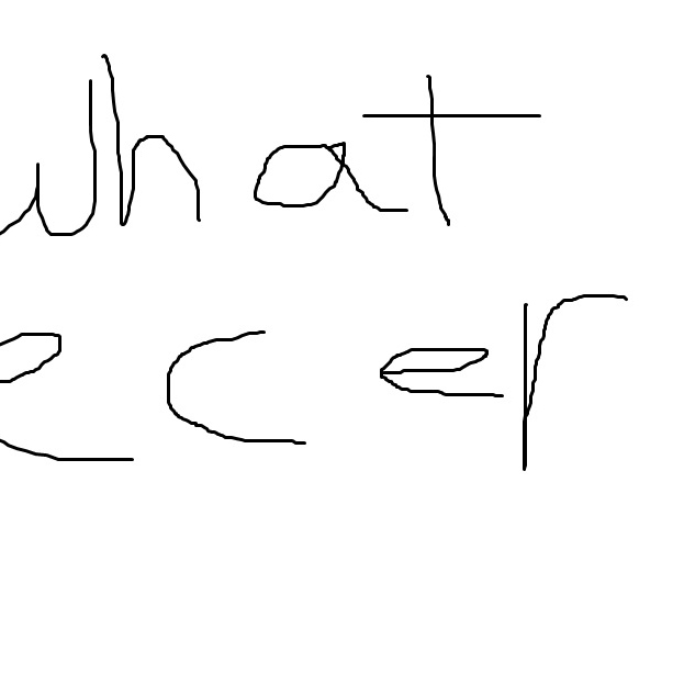 whatecer