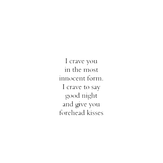 craving you