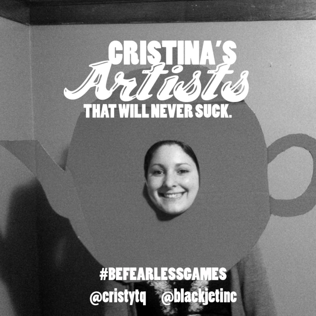 Cristina's Artists That Will Never Suck