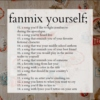 fanmix yourself ✿❀✾