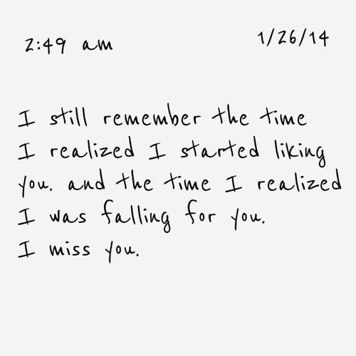 for that one person who was never quite yours