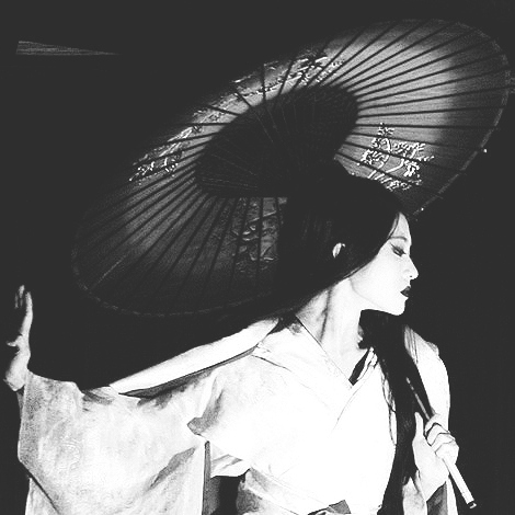 it is not for geisha to feel.