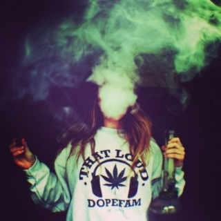All we do is get high, all we want is peace
