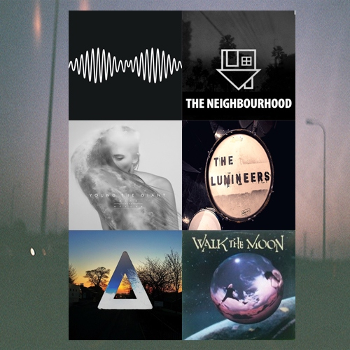The six bands that makes life worthwhile