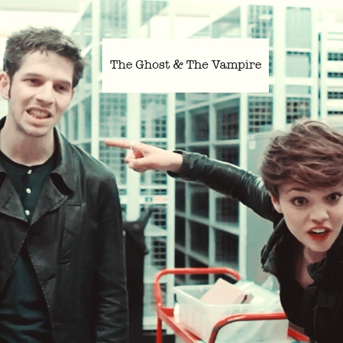 The Ghost and The Vampire