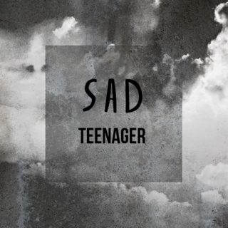 sad teenager
