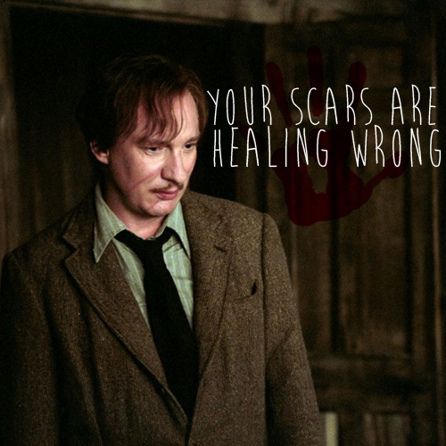 your scars are healing wrong