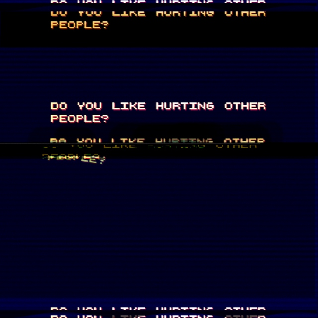 do you like hurting other people
