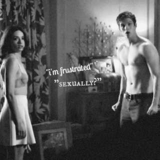 {i'm frustrated} {sexually?}