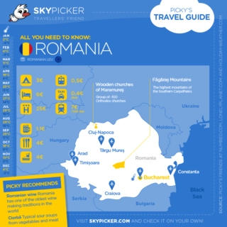 Skypicker destination: Romania