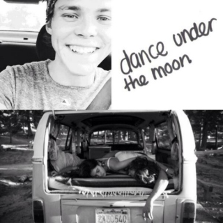 midnight roadtrip with ashton