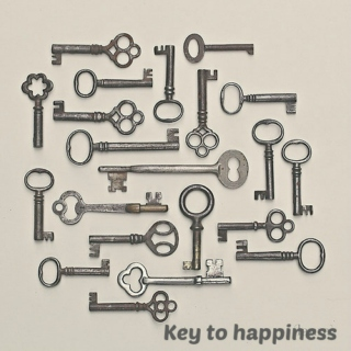 ∆ key to happiness ∆