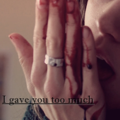 I gave you too much