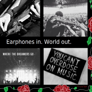 Earphones in. World out.