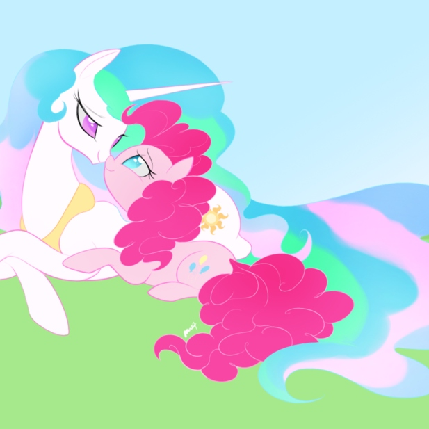Everything I never knew I needed ~ Celestia/Pinkie Pie