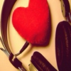 music beats in the rythm of heart & illustrates the work of mind