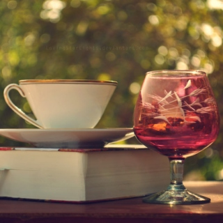 The taste of wine and the smell of old books