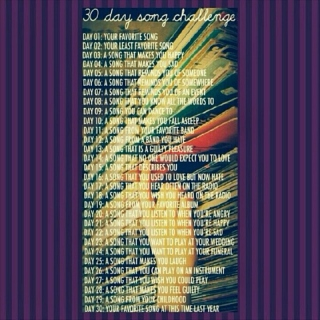 30 Days Song Challenge