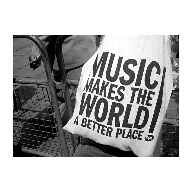 music is everything.