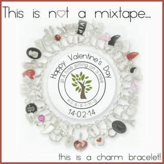 "This is not a mixtape... this is a ""Charm Bracelet"""