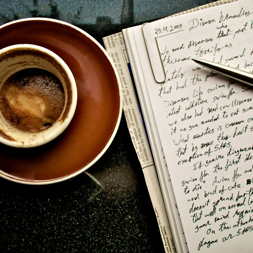 8tracks radio | Writing in a Coffee Shop (32 songs) | free and music playlist