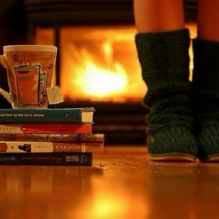 Poems by the fireplace