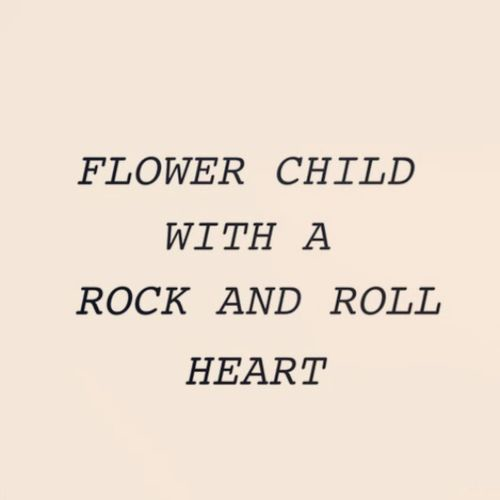 Flowers and Rock n Roll