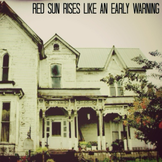 Red Sun Rises Like an Early Warning