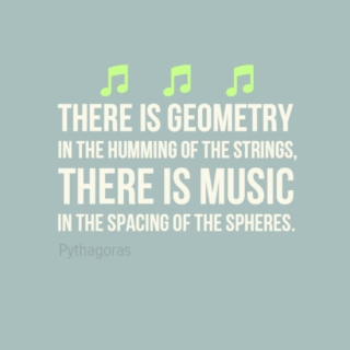 Music is math anyway