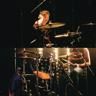 drummers hit it harder