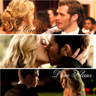To Caroline; Love Klaus