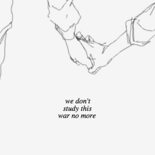 we don't study this war no more