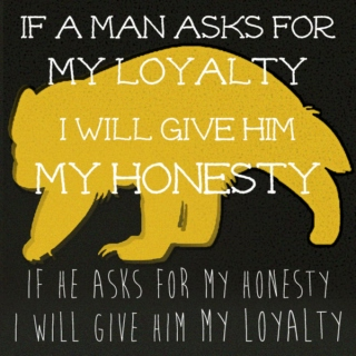 If a man asks for my honesty (I'll give him my loyalty)