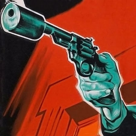 You can talk, or you can listen to the business end of my revolver. The choice is yours.