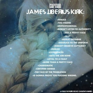 James Tiberius Kirk Isn't a Boy's Name