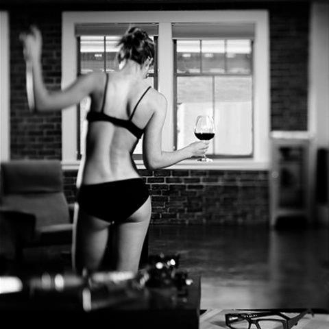 ✩Dancing around in your underwear with harry✩