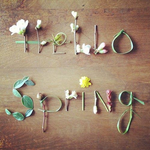 Spring is (Almost) Here