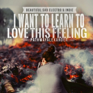 I want to learn to love this feeling. Beautiful sad ELECTRO & INDIE MIX
