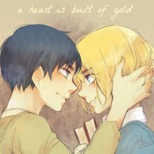 a heart is built of gold