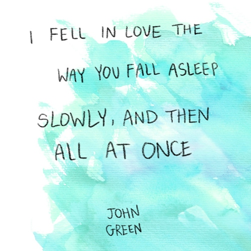 the fault is not in our stars