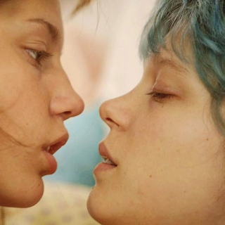 Blue, the warmest color.