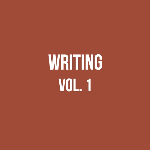 writing: unresolved love