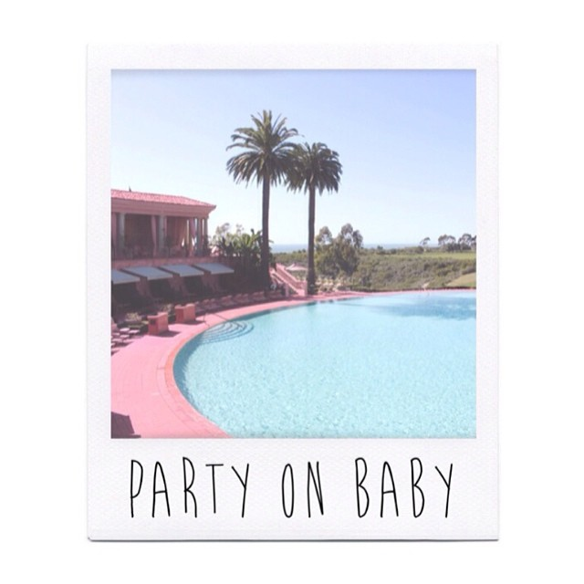 ♡ PARTY ON BABY ♡