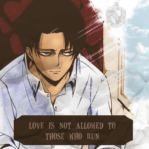 love is not allowed to those who run
