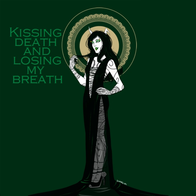Kissing death and losing my breath