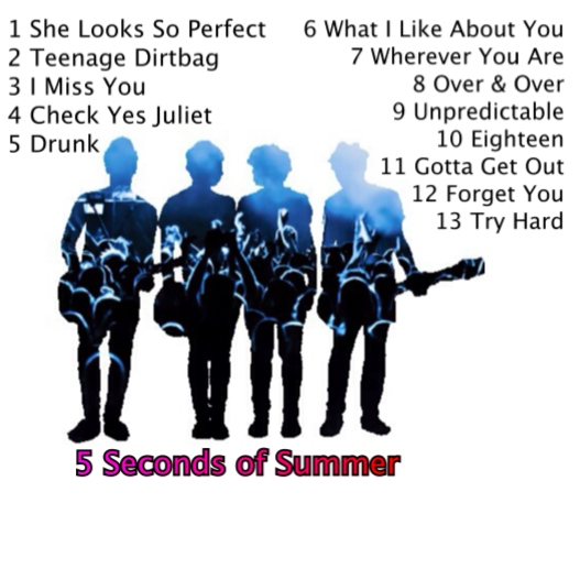 5Seconds of you