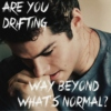 are you drifting way beyond what's normal?