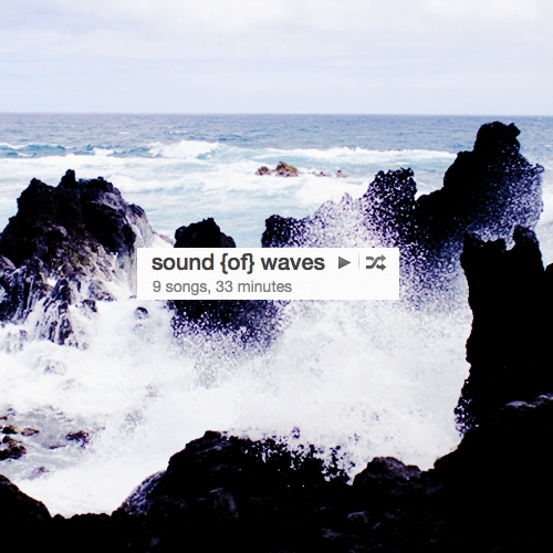 sound {of} waves