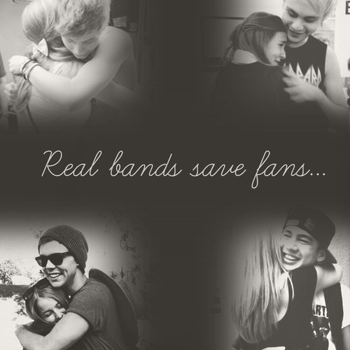 real bands save real fans :)♥